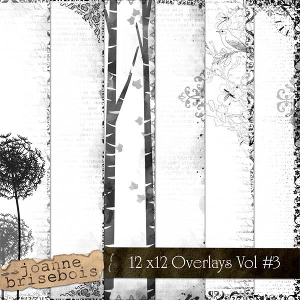 12x12 Overlays Volume #3 Element Pack