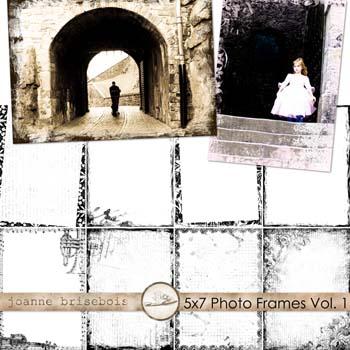 5x7 Photo Frames Vol. 1