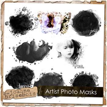 Artist Photo Masks Element Pack