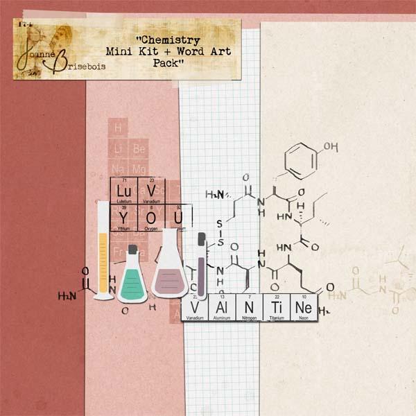 Chemistry Mini Kit + Word Art Pack