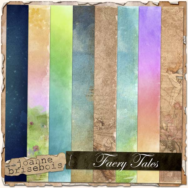 Faery Tales Paper Pack
