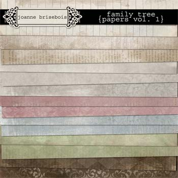 Family Tree {Papers Vol I} Paper Pack