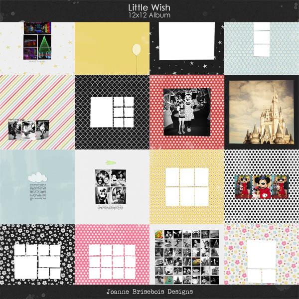 Little Wish 12x12 Album