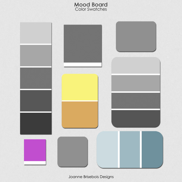 Mood Board Color Swatches
