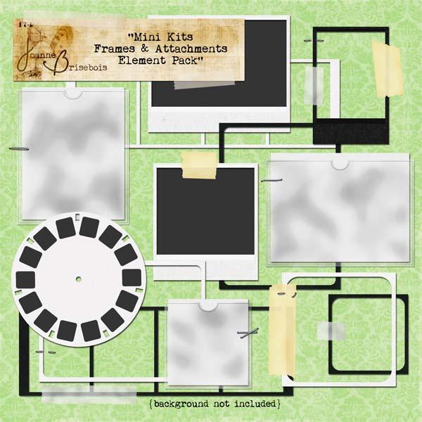 Mini Kits Frames & Attachments Element Pack