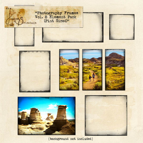 Photography Frames Vol 8 Pint Sized