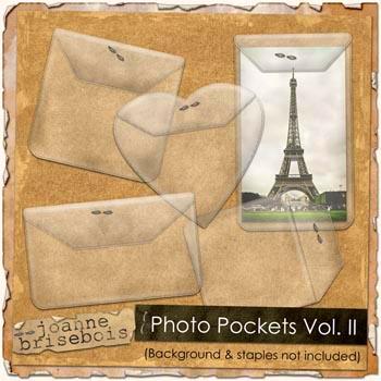 Photo Pockets Vol. II Element Pack