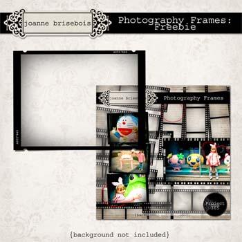 Photography Frames: Freebie