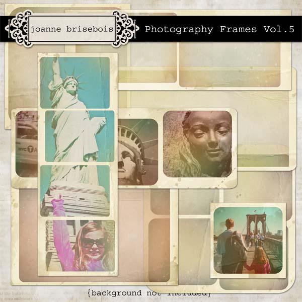 Photography Frames Vol 5 Element Pack
