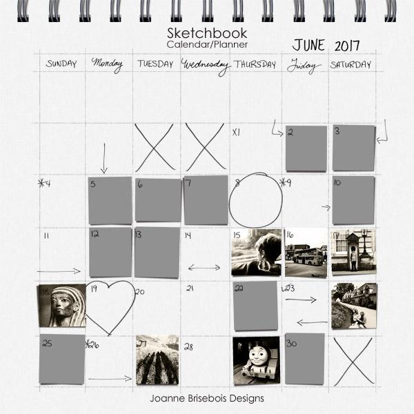 Sketchbook Calendar/Planner