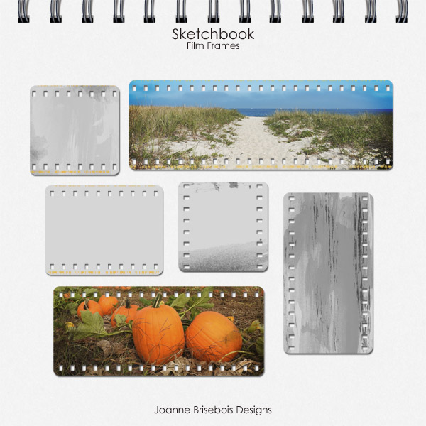 Sketchbook Film Frames