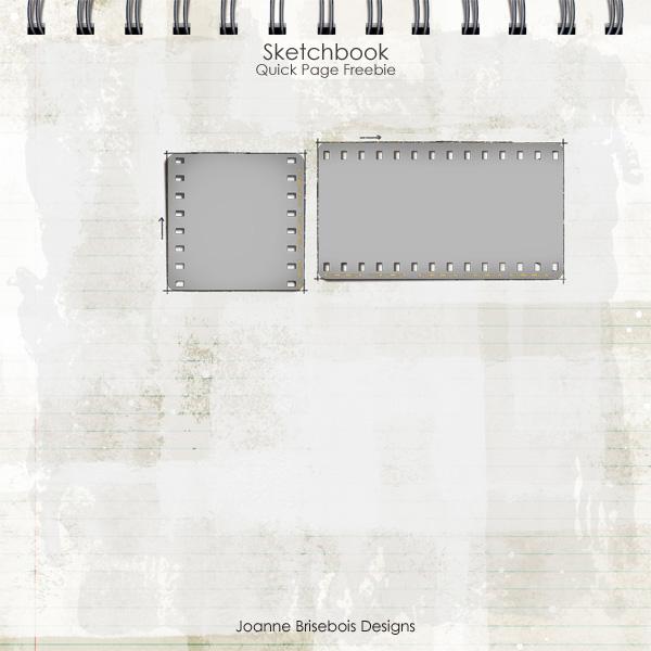 Sketchbook Quick Page Freebie