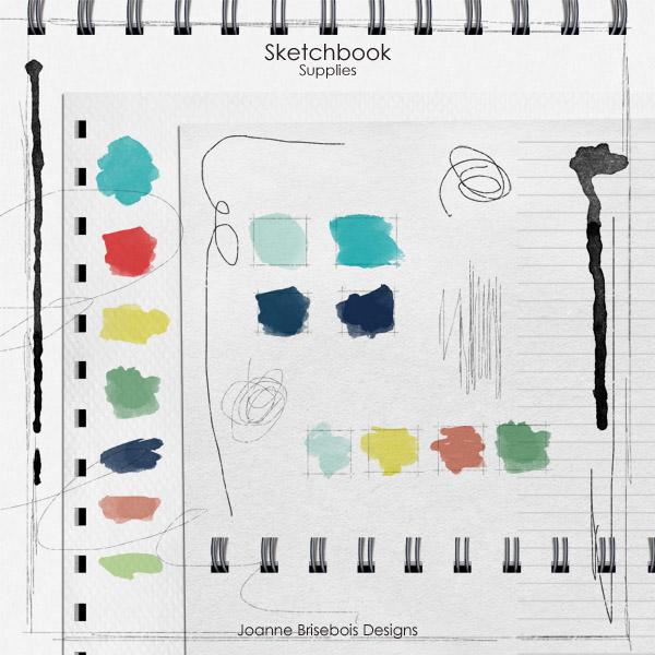Sketchbook Supplies
