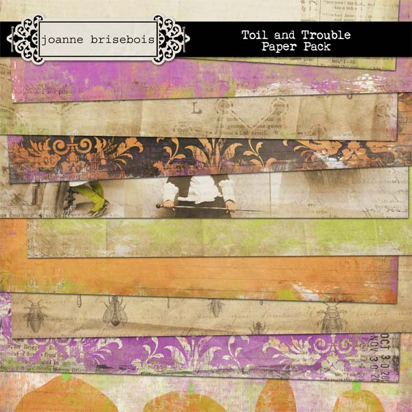 Toil and Trouble Paper Pack