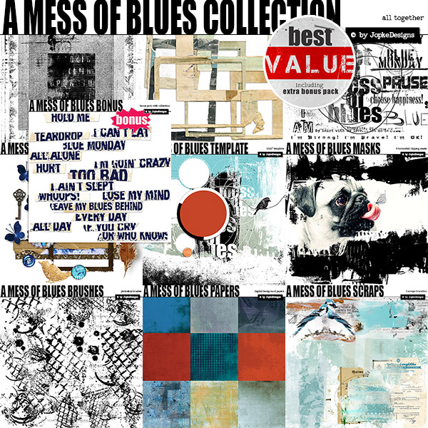 A Mess Of Blues Collection