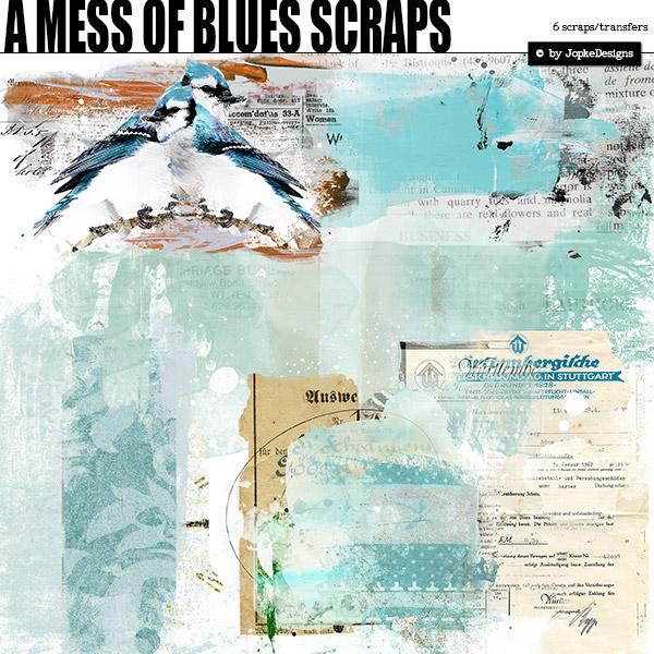 A Mess Of Blues Scraps