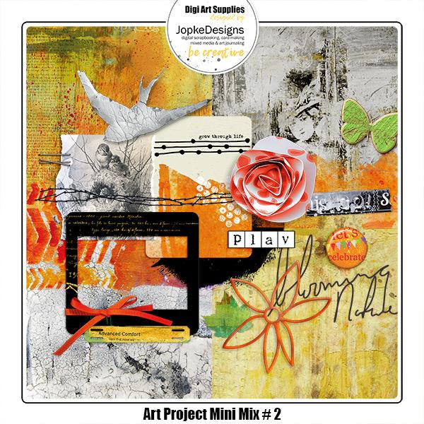 Art Project Mini Mix # 2