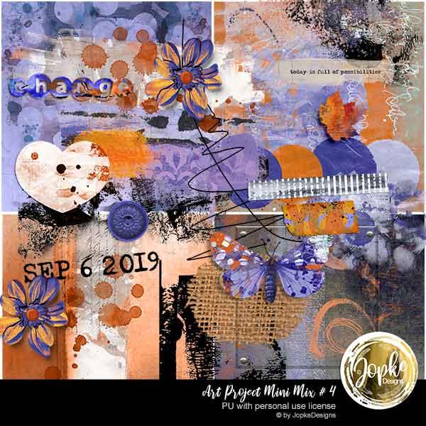 Art Project Mini Mix # 4