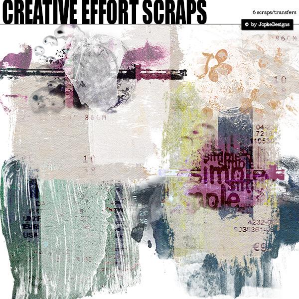 Creative Effort Scraps