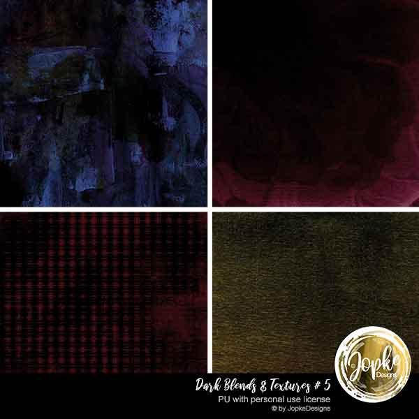 Dark Blends & Textures # 5