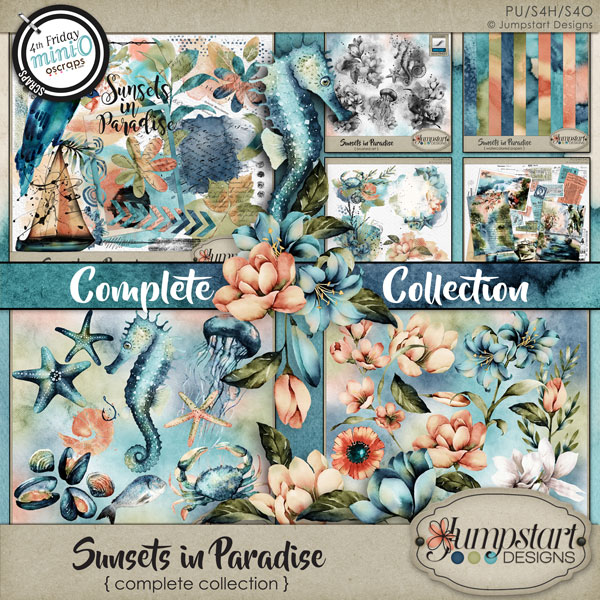 Sunsets in Paradise { Complete Collection } by Jumpstart Designs