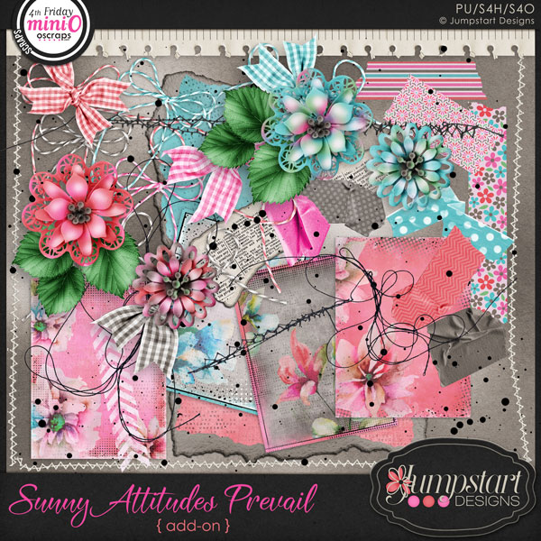 Sunny Attitudes Prevail ADD-ON by Jumpstart Designs