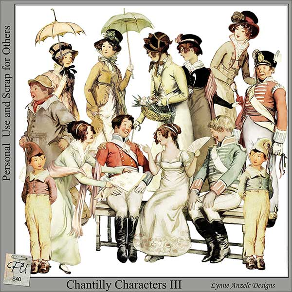 Chantilly Characters III