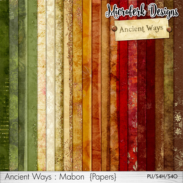 Ancient Ways Mabon Papers
