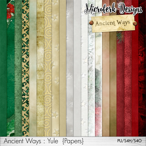 Ancient Ways Yule Papers
