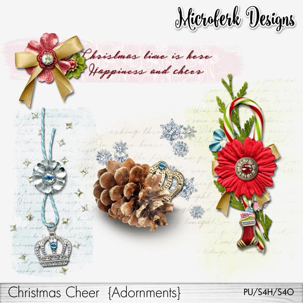 Christmas Cheer Adornments