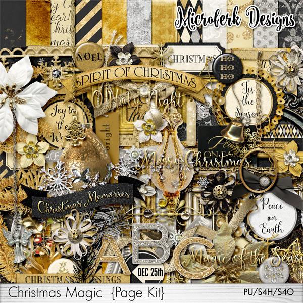 Christmas Magic Page Kit