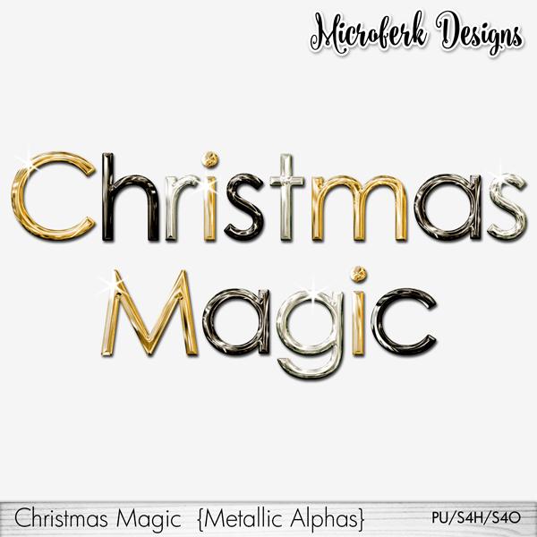 Christmas Magic Metallic Alphas