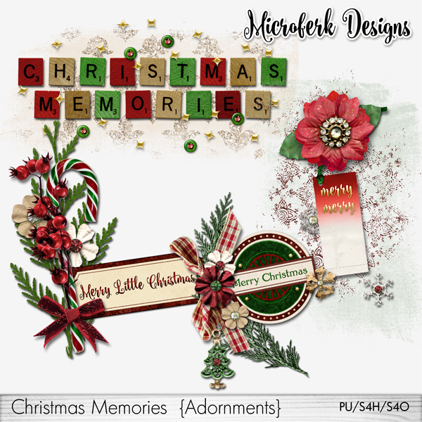 Christmas Memories Adornments