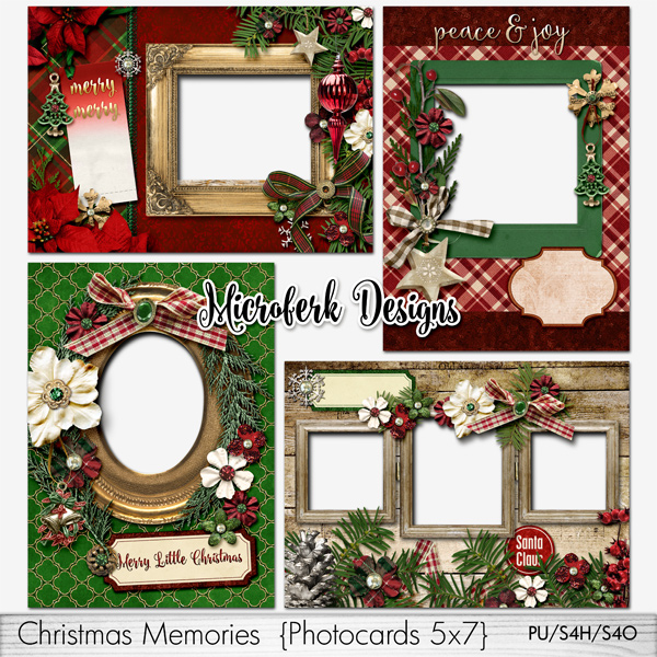 Christmas Memories Photocards 5x7