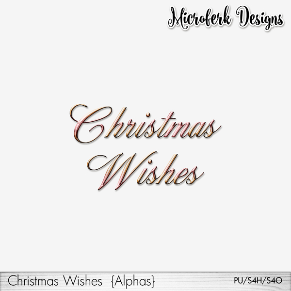 Christmas Wishes Alphas