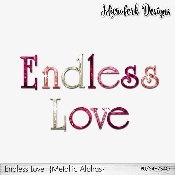 Endless Love Metallic Alphas