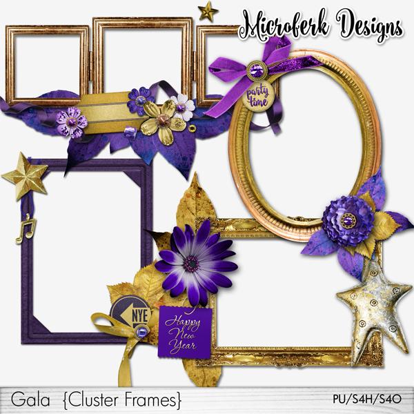 Gala Cluster Frames