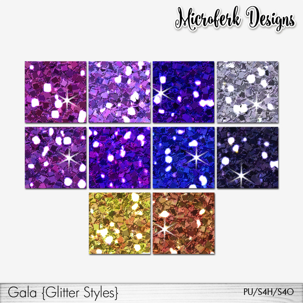 Gala Glitter Styles