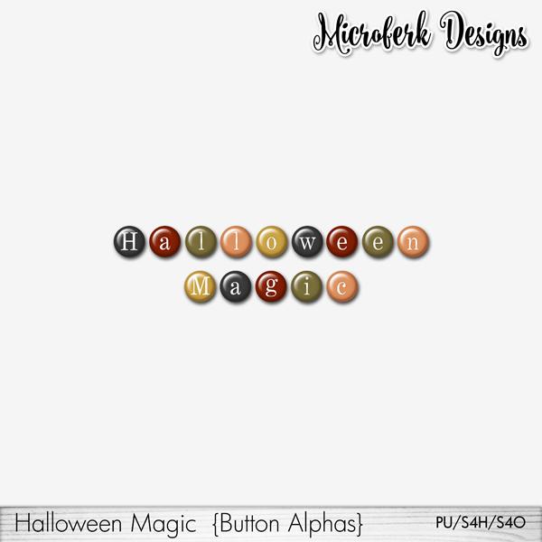 Halloween Magic Button Alphas