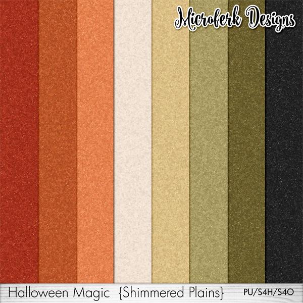 Halloween Magic Shimmered Plains