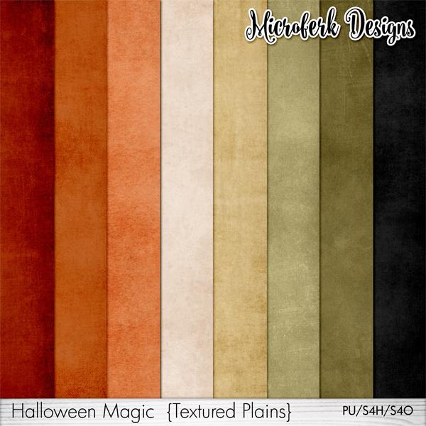 Halloween Magic Textured Plains