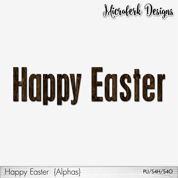 Happy Easter Alphas