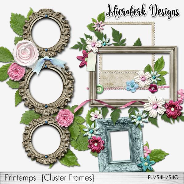 Printemps Cluster Frames