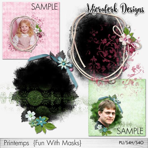 Printemps Fun With Masks