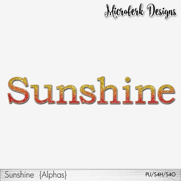 Sunshine Alphas