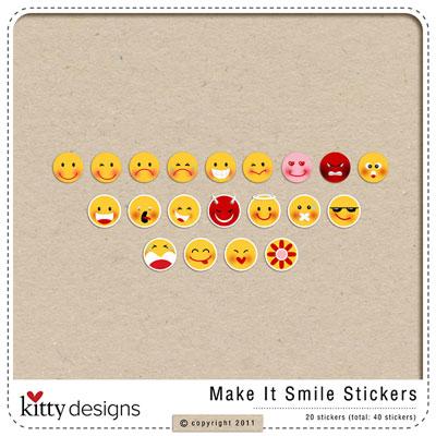 Make It Smile Stickers