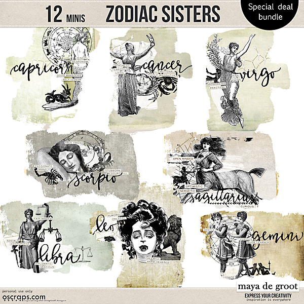 Zodiac Sisters special bundle