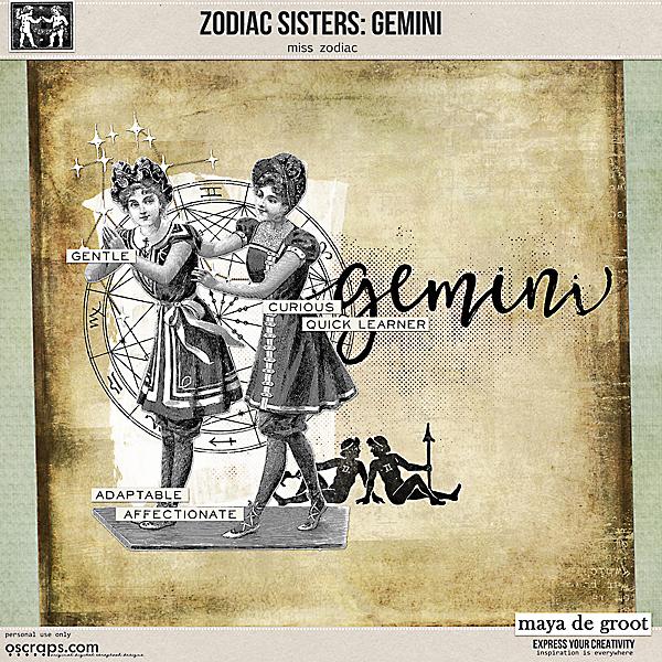 Zodiac Sisters: Gemini