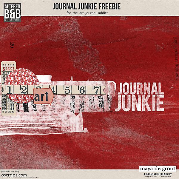 Journal Junkie Freebie