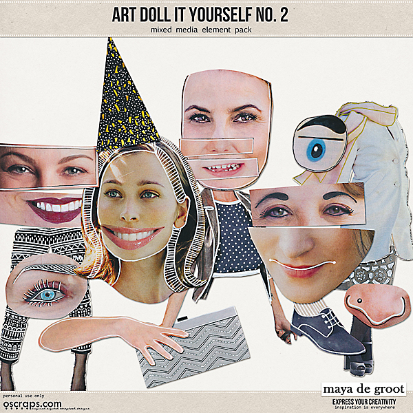 Art Doll It Yourself no. 2